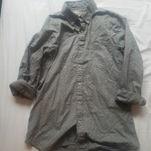 Gray parterned shirt